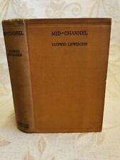 Antik Buch der Fahrrinne, von Ludwig Lewisohn - 1929 1st. Edition