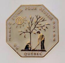 Optimist International Pin Quebec Canada 1995 1996 S'Unir Pour Reussir Lapel