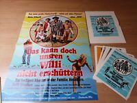 Kinoplakat + 24 AHF + Kleinplakat : Das kann doch unsern Willi nicht .. .Z 0-1