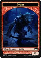MTG x4 Goblin TOKEN Ravnica Allegiance Magic the Gathering NM/M