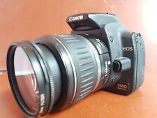 Canon EOS 350D 8.0MP Digital SLR Camera - Black (Kit w/ EF-S…18-55mm mkII lens