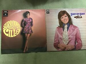CILLA BLACK - 2 LPs - SURROUND YOURSELF WITH CILLA + DAY BY DAY