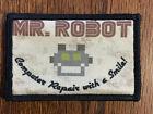 Mr Robot Morale Patch FSociety  Milspec Tactical Rami Malek