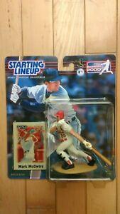 2000  MLB Hasbro Starting Lineup Mark McGwire St. Louis Cardinals NIB Baseball