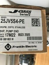 "New FRANKLIN Pump 25 GPM 5 HP 4"" Stainless Steel Submersible Pump End Only"