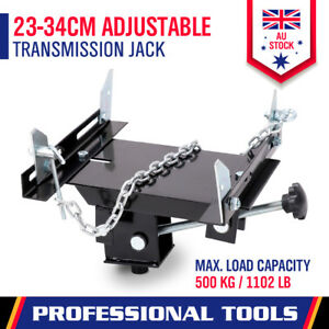 Transmission Jack Adapter 500KG Automotive Car Gearbox Removal Trolley Adaptor