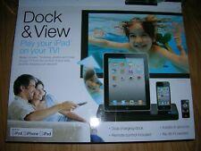 New iT Innovative Technology Dock & View iPod iPhone iPad Model ITITV-2012