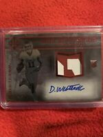 Dede Westbrook 2017 Majestic Rookie Scripted Swatches Rookie Patch Auto #4/5 Hot
