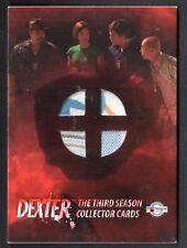 DEXTER SEASON 3 Breygent COSTUME CARD #D3 - C28 FOUR DIFFERENT COSTUME SWATCHES
