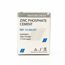 Dental Zinc Phosphate Cement Kit Permanent Crown Inlays Bridges and Orthodontic