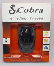 Cobra ESR 755 Radar Detector Tone Alert with 360 Degree Laser Eye (Black) ™