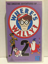 THE AMAZING ADVENTURES OF WHERES WHERE'S WALLY? ~ VOLUME TWO  2 ~ RARE VHS VIDEO