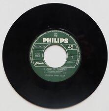 "Vinyle 45T Johnny Hallyday  ""Si j'étais un charpentier"" - jukebox"
