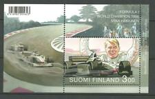 FINLAND - F1 WORLD CHAMPION Mika Hakkinen M/S 1999 MNH