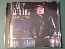 BARRY MANILOW THIS IS MY TOWN SONGS OF NEW YORK CD 2017