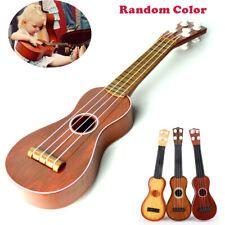 Kids Simulation Classical Wood Grain Guitar Ukulele Children Beginner Toys Gift