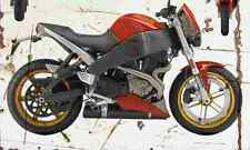 Buell Lightning XB12S 2004 Aged Vintage Photo Print A4 Retro poster