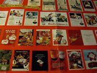 "1976 Budweiser ""100 YEARS-Bud Ads-center fold-Original Print Ad 8.5 x 10.5"""