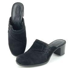 Gamuza De Tacón Ancho Y Clarks Ancho Medio (B, M) Zapatos