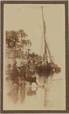 Egypte EsnehEsna Felouque Photo P15L1n3 Vintage Argentique c1900