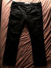 Burton Men's Jeans  Black 38S Stretch Slim Very Good Condition