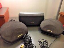 2 Aiwa Speakers, sx-R275 AND 1 SX-C605 SURROUND SOUND SPEAKER SET (#21-1)