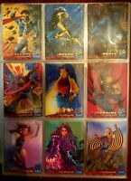 1994 Fleer Ultra X-MEN Complete Base Card Set +12 Insert Cards NM MAKE AN OFFER