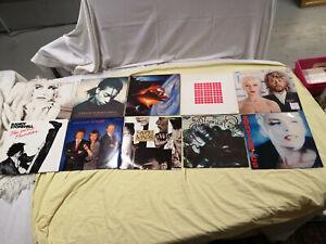 LOT 21 VINYLES 33T musique ROCK POP FOLK vinyle Simple Minds Eurythmics song 5