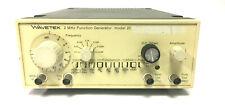 Wavetek 2 MHz Function Generator - Model 20