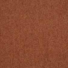 A834 Henna Red Speckled Chenille Upholstery Fabric By The Yard