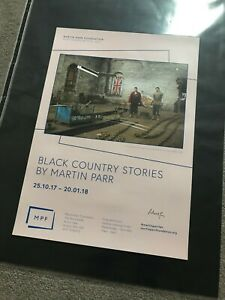 MARTIN PARR  A2 signed poster