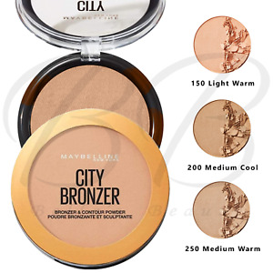 MAYBELLINE City Bronzer & Contour Contouring Pressed Face Powder *CHOOSE SHADE*