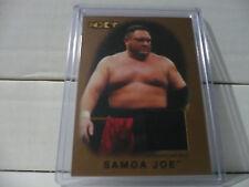 2016 Topps WWE Heritage Samoa Joe Bronze Parallel Event Used Mat Relic 27/99