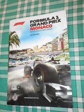 PROGRAMME OFFICIEL 76 EME GRAND PRIX DE MONACO 2018 F1 FORMULA ONE FORMULE 1