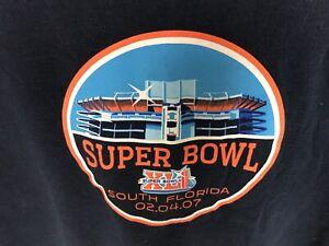 Authentic Original Super Bowl XLI On Site Event Shirt Colts Peyton Manning