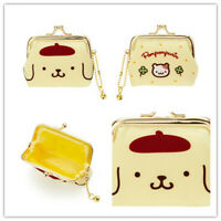 Chi-bi Maruko Card Holder PU Credit ID Bags Zipper Coin Bus Card Wallet Gift new