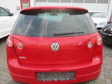 Heckklappe Dachspoiler VW Golf 5 GTI TORNADOROT LY3D Klappe rot