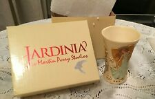"Martin Perry Jardinia ""Songs of Praise"" Vase Cup Angels Doves"
