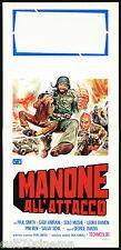MANONE ALL'ATTACCO LOCANDINA CINEMA FILM PAUL SMITH MICHAEL COBY 1976 AFFICHE