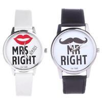 Paio di Orologi - Mr.Destro & Mrs.Always Right - Sacchetto Regalo W1628
