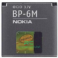 BATTERIA NOKIA ORIGINALE BP-6M BP6M N73 N93 9300 6280