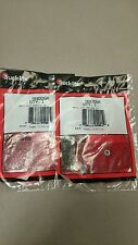 """Truck Lite 3"""" Red Round Reflector 98006R QTY 2 - Pair - FREE SHIPPING"""