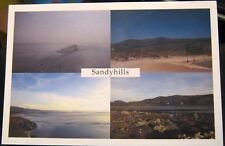 Scotland Fishing Nets at Sandyhills beach Colvend - posted