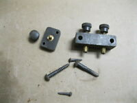 Vintage Singer Sewing Machine Power Cord Connector Posts Terminal Blocks