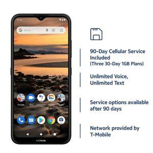 Nokia 1.4   Prepaid 90-Day SIM Card   Unlocked Smartphone   Charcoal   2/32GB