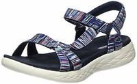 Skechers Women's On-The-go 600-Electric Sport Sandal, Navy/Multi, Size 8.0 JUk0