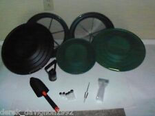 Green/Black Deluxe Gold Classifier & Gold Pan Panning Kit