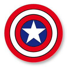 Pin Button Badge Ø38mm Captain America Marvel Comics Super Heros The Avengers