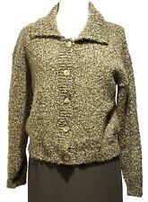PC KNITWEAR Green Cardigan Sweater Womens Large (L)