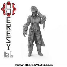 13 Warhammer 40k Heresylab Female Imperial Guard Commissar - Konstanze